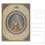 Portrait of Bahadur Shah II, the last Mughal Emperor by Circle of Ghulam 'Ali Khan