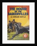 Hound of the Baskervilles book cover by Sydney Paget