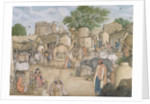 The village of Raniya in Haryana Delhi, 1815-19 by Anonymous