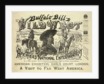 Buffalo Bill's Wild West, A Visit to Far West America by Calhoun Print Co