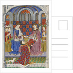 Margaret of Anjou with Henry VI by Anonymous