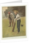 The batsman of the future by James Hayllar