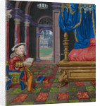 Henry VIII as King David by Anonymous