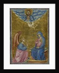 The Annunciation to the Virgin (Hours of the Virgin) by Anonymous