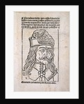Vlad the Impaler woodcut by Anonymous
