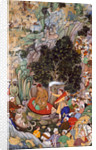 Akbar ordering the slaughter to cease in 1578 by Miskina