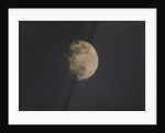 Photograph of the moon by Nevil Story-Maskelyne