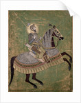 Emperor Aurangzeb on horseback by Anonymous