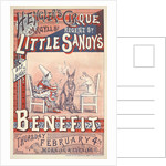 Little Sandy's Benefit by Sanger's Grand National Amphitheatre