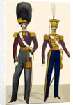 British army uniforms by Anonymous