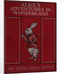 Alice in Wonderland book cover by Sir John Tenniel