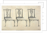 Chippendale chair designs by Thomas Chippendale