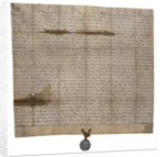 The papal bull annulling Magna Carta by Anonymous