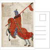 Mounted knight of Prato by Anonymous
