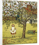 Apple picking by J G Sowerby