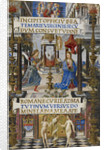 The Annunciation to the Virgin (Mirandola Hours) by Anonymous