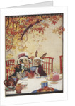 The Mad Hatter's Tea party by Gwynedd M Hudson