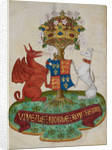 Arms of Henry VII by Anonymous