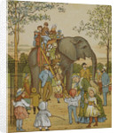 The elephant ride by Thomas Crane