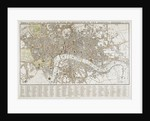 Plan of London (1830) by Thomas Tegg