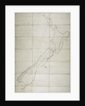 A chart of New Zealand by James Cook