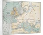 The German submarine blockade area by Anonymous