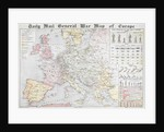 Daily Mail General War Map of Europe by Anonymous