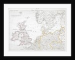First World War map of the North Sea, 1914 by Anonymous