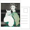 Green-eyed cat by Sogata