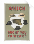 Which ought you to wear? by Anonymous