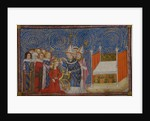 Coronation of Queen Jeanne de Bourbon by Anonymous