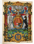 Arms of Henry Fitzalan by Anonymous