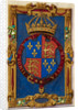 Arms of Edward VI by Anonymous