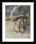 Rain, rain go to Spain print by Arthur Rackham