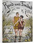 Rund ums Freibad by Heinrich Zille