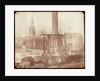 Nelson's Column under construction in Trafalgar Square - April 1844 by Henry Fox Talbot