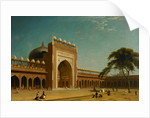 Quadrangle of the Jami Masjid, Fatehpur Sikri by William Daniell