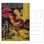 Life on Mercury by Frank R Paul