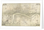 Rocque map of London 1745 by John Rocque