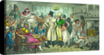 Tom and Jerry at a Coffee Shop by George Cruikshank