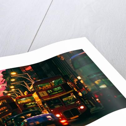 London Night Bus by Phillipe Delmouz