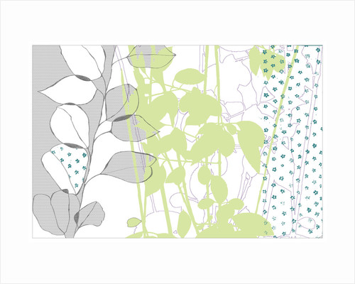 Graphic Organic I by Paula Dale
