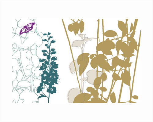 Graphic Organic II by Paula Dale