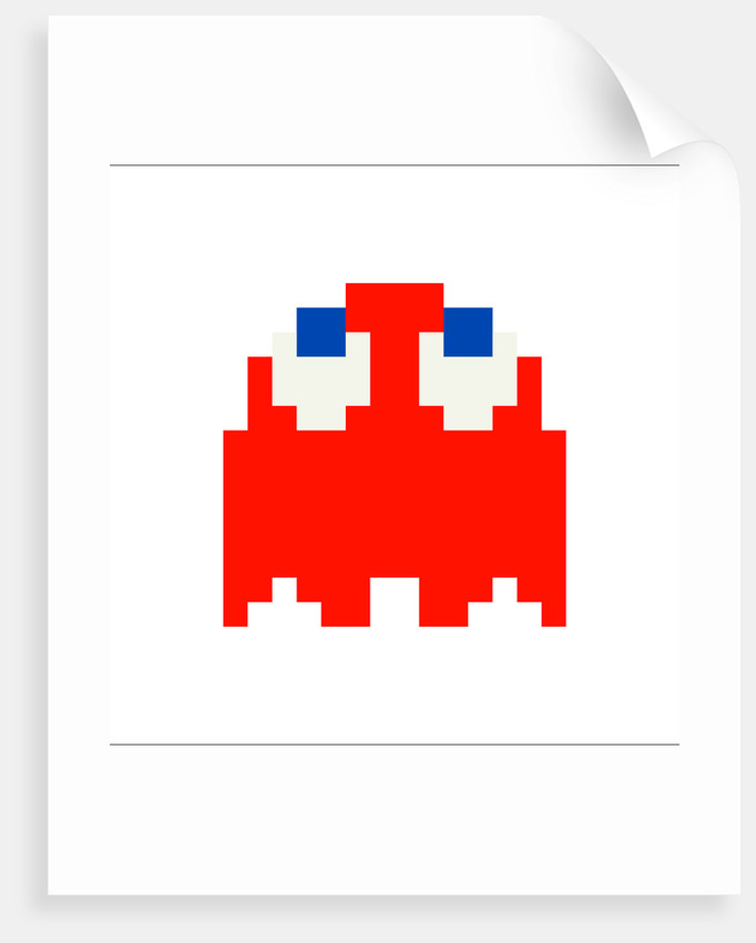 Pac Man 'Blinky' by Natalie Taylor
