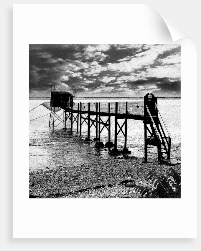 French Fishing Pier by Joy Newbold