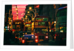 London Night Bus by Phillipe Delmouz