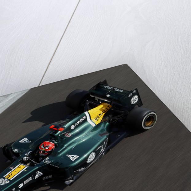 Flying Finn, Heikki Kovalainen, Abu Dhabi by Steven Tee