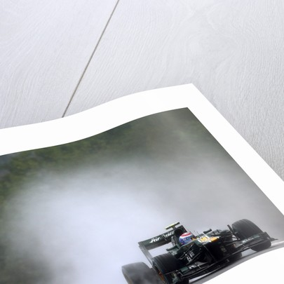 Spray, Vitaly Petrov, Belgium by Lorenzo Bellanca