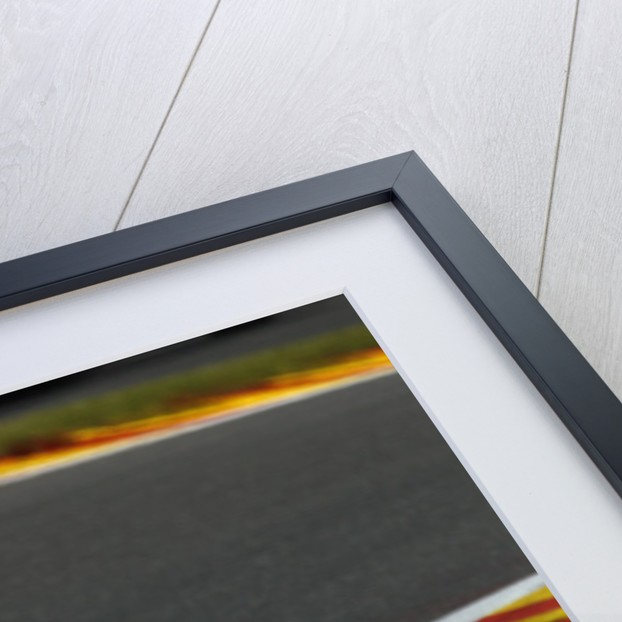 Eyes front, Heikki Kovalainen, Belgium by Charles Coates