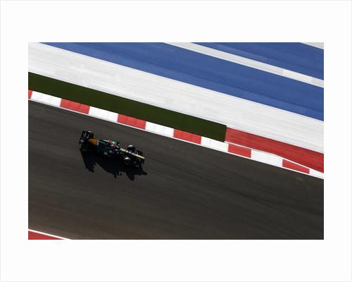 Born in the USA, Heikki Kovalainen by Alastair Staley